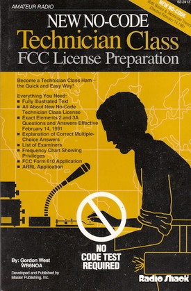 For Old technician amateur license to general