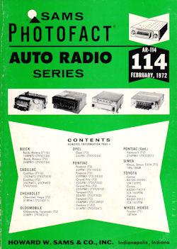 SMC ELECTRONICS - Sams Photofact Service Manuals - Books - Auto