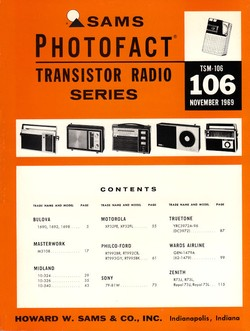 SMC ELECTRONICS - Sams Photofact Service Manuals - Books ...
