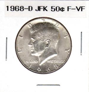 1968-S United States BU Jefferson Nickel $2 Coin Tube Brilliant Uncirculated
