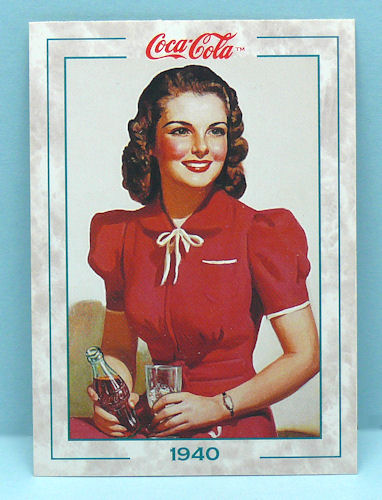 Cola Cola Series 2 Trading Cards Full 100 Card Base Set from Collect-a-Card