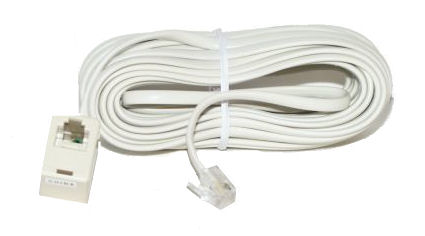 smc electronics telephone accessories 25 six conductor modular telephone extension cord heavy duty 25 foot flat cable a rj 25 modular plug on one end and a rj 25 jack on the other end